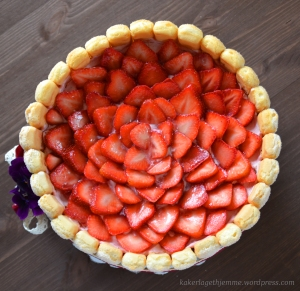 jordbær charlotte